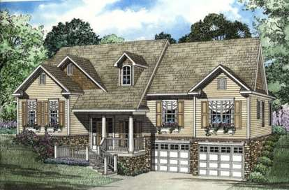 3 Bed, 2 Bath, 2010 Square Foot House Plan - #110-00337