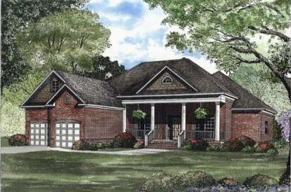 3 Bed, 2 Bath, 2100 Square Foot House Plan - #110-00356