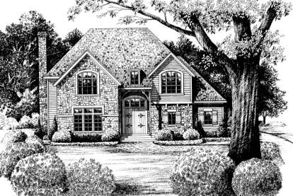 4 Bed, 1 Bath, 3222 Square Foot House Plan - #402-00991