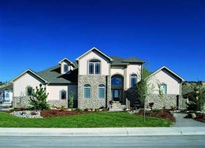 3 Bed, 2 Bath, 1984 Square Foot House Plan - #402-00997