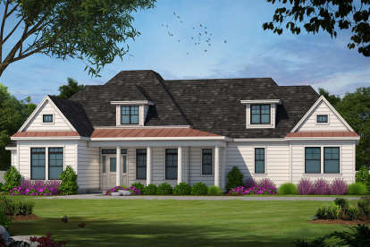 4 Bed, 1 Bath, 2040 Square Foot House Plan - #402-00998