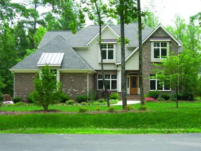 4 Bed, 1 Bath, 2638 Square Foot House Plan - #402-01001