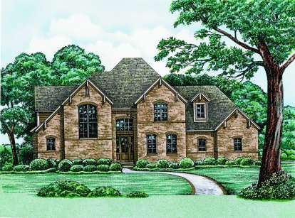 3 Bed, 2 Bath, 2237 Square Foot House Plan - #402-01007