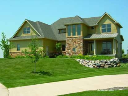 3 Bed, 2 Bath, 2188 Square Foot House Plan - #402-01015