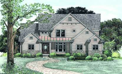 4 Bed, 2 Bath, 2301 Square Foot House Plan - #402-01020