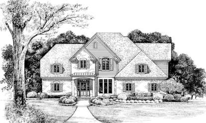 3 Bed, 2 Bath, 2130 Square Foot House Plan - #402-01035