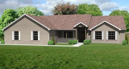 3 Bed, 2 Bath, 2122 Square Foot House Plan - #849-00023