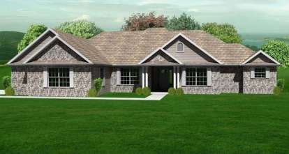 3 Bed, 3 Bath, 2360 Square Foot House Plan - #849-00036