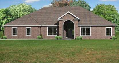 4 Bed, 3 Bath, 3336 Square Foot House Plan - #849-00056