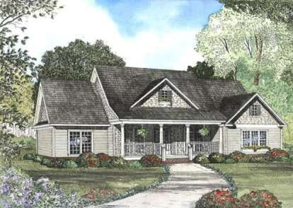 4 Bed, 2 Bath, 2261 Square Foot House Plan #110-00380