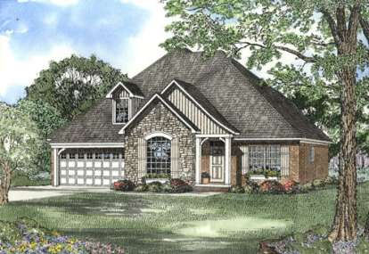 4 Bed, 2 Bath, 2290 Square Foot House Plan - #110-00389