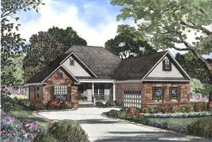 3 Bed, 2 Bath, 2211 Square Foot House Plan - #110-00390