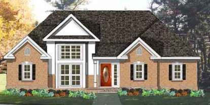 3 Bed, 2 Bath, 1540 Square Foot House Plan - #033-00095