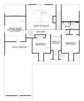 Floorplan 2 for House Plan #110-00400