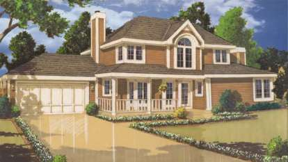 3 Bed, 2 Bath, 1701 Square Foot House Plan - #033-00098