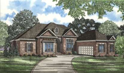 4 Bed, 4 Bath, 3568 Square Foot House Plan - #110-00427