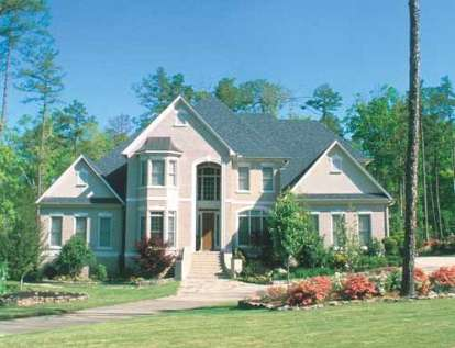 5 Bed, 4 Bath, 4461 Square Foot House Plan - #110-00436