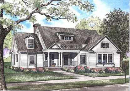 4 Bed, 3 Bath, 2514 Square Foot House Plan - #110-00437