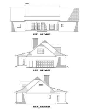 Southern House Plan #110-00450 Elevation Photo