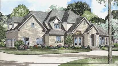 4 Bed, 3 Bath, 4488 Square Foot House Plan - #110-00501