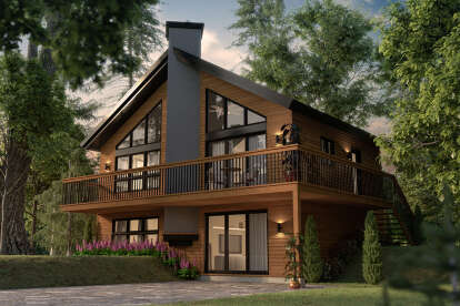 3 Bed, 2 Bath, 1648 Square Foot House Plan - #034-00132