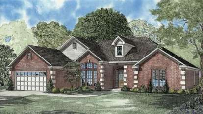 4 Bed, 2 Bath, 2217 Square Foot House Plan - #110-00534