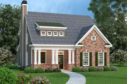 4 Bed, 2 Bath, 2021 Square Foot House Plan - #009-00038