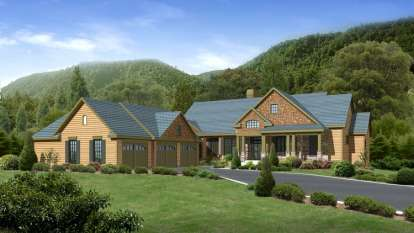 3 Bed, 3 Bath, 3605 Square Foot House Plan - #957-00005