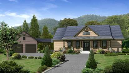 4 Bed, 4 Bath, 2860 Square Foot House Plan - #957-00012