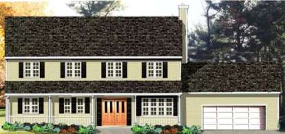 3 Bed, 2 Bath, 1918 Square Foot House Plan - #033-00107