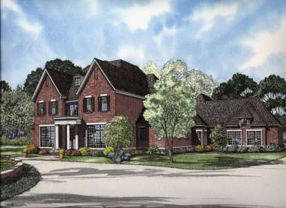 4 Bed, 4 Bath, 5726 Square Foot House Plan - #110-00631