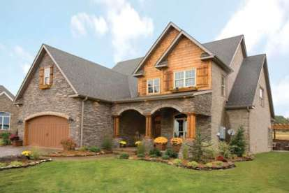 4 Bed, 2 Bath, 2470 Square Foot House Plan - #110-00638