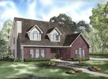 3 Bed, 2 Bath, 2545 Square Foot House Plan - #110-00661
