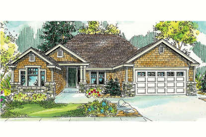3 Bed, 2 Bath, 2055 Square Foot House Plan - #035-00426