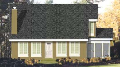 3 Bed, 3 Bath, 2105 Square Foot House Plan - #033-00111