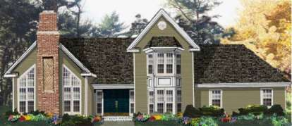 4 Bed, 2 Bath, 2225 Square Foot House Plan - #033-00114
