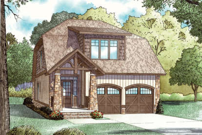 3 Bed, 2 Bath, 1890 Square Foot House Plan - #110-00737