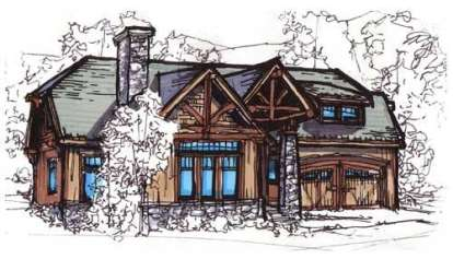 3 Bed, 2 Bath, 2099 Square Foot House Plan - #110-00741