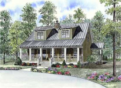 3 Bed, 2 Bath, 1451 Square Foot House Plan - #110-00746