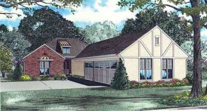 4 Bed, 4 Bath, 3596 Square Foot House Plan - #110-00758