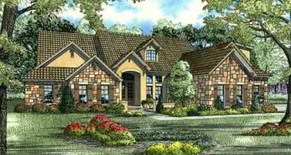 5 Bed, 4 Bath, 3003 Square Foot House Plan #110-00775