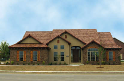 4 Bed, 3 Bath, 2075 Square Foot House Plan - #110-00780