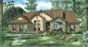 Country House Plan #110-00780 Elevation Photo