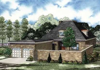 4 Bed, 3 Bath, 3275 Square Foot House Plan - #110-00801