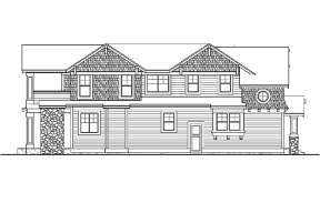 Northwest House Plan #341-00010 Elevation Photo