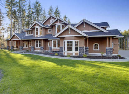 4 Bed, 4 Bath, 5250 Square Foot House Plan - #341-00026