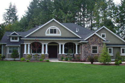 4 Bed, 3 Bath, 3500 Square Foot House Plan #341-00031