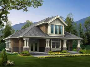 House Plan #341-00045 Elevation Photo