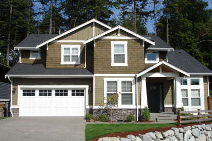 3 Bed, 2 Bath, 2565 Square Foot House Plan - #341-00065