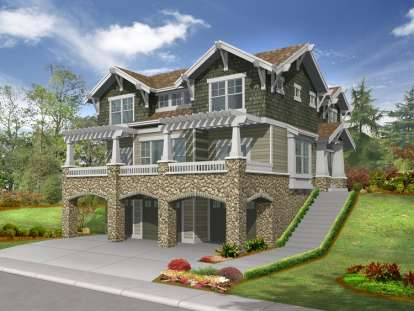 3 Bed, 2 Bath, 2675 Square Foot House Plan #341-00073